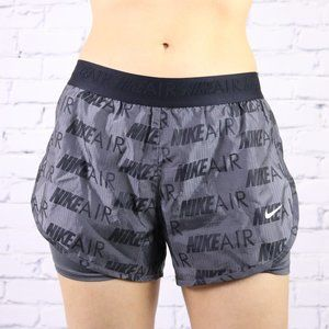 Nike Air grey compression running shorts c2